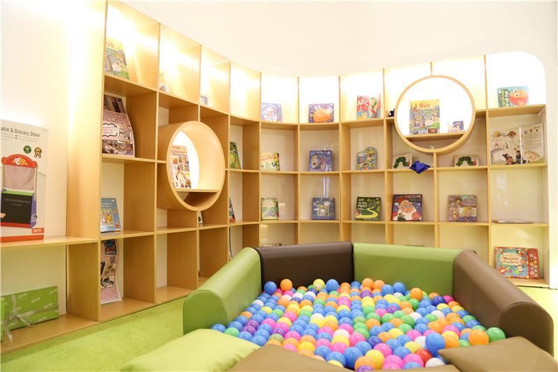 早教加盟店儿童玩乐区