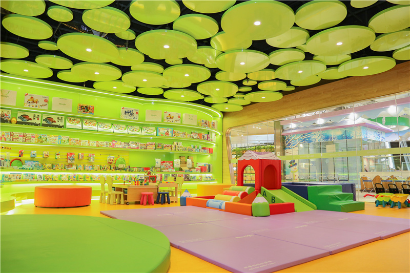 早教加盟店玩具区