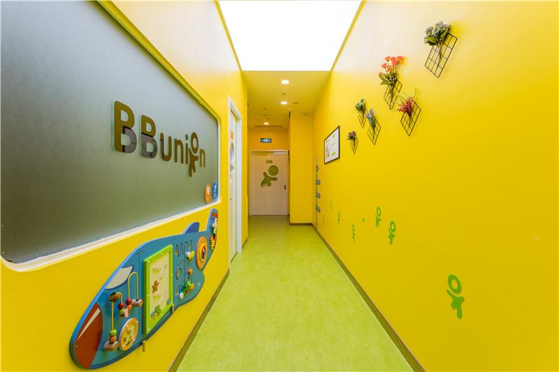 早教加盟店走廊