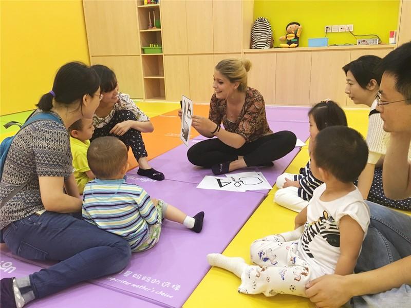 国际早教品牌的早教课堂