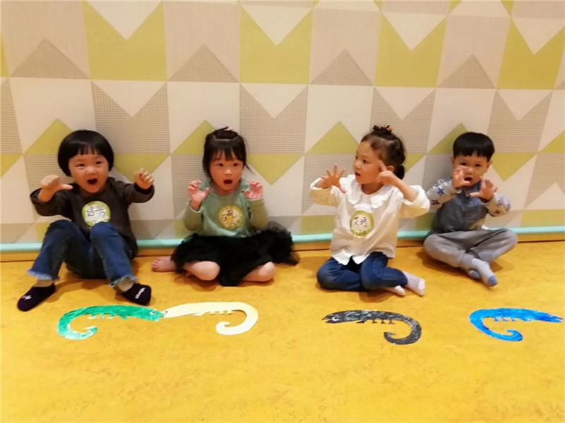深圳的孩子爱上早教中心