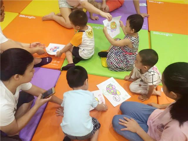县城开办的早教中心
