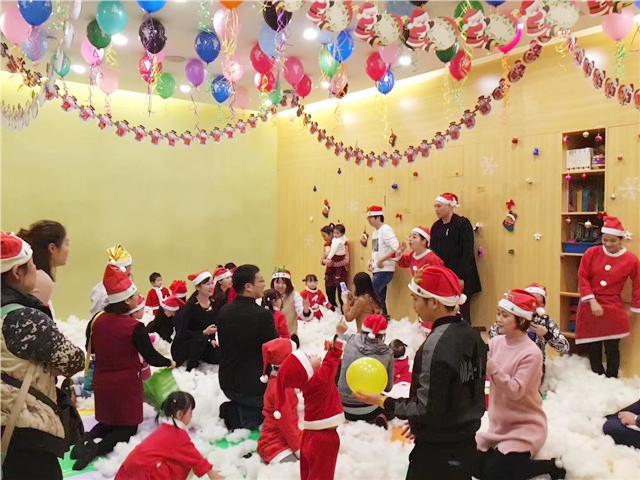 高端早教品牌圣诞节活动