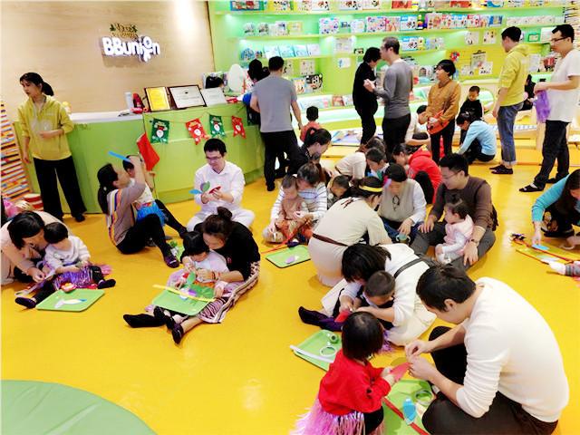 通过早教中心培养孩子已成潮流