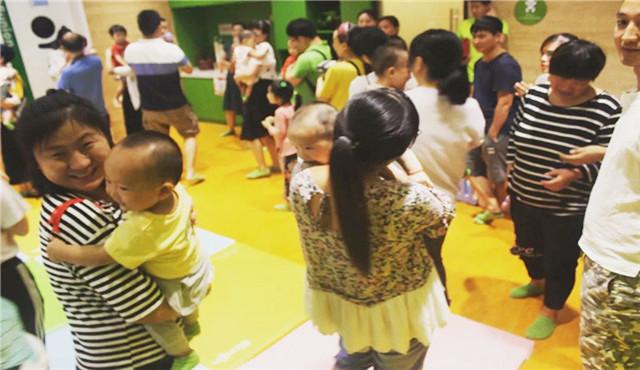 家长参与早教中心课程